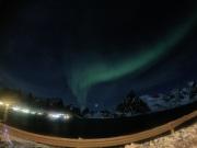 Aurora Borealis from Reine's cabin