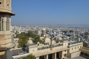 3. Udaipur city from the City Palace