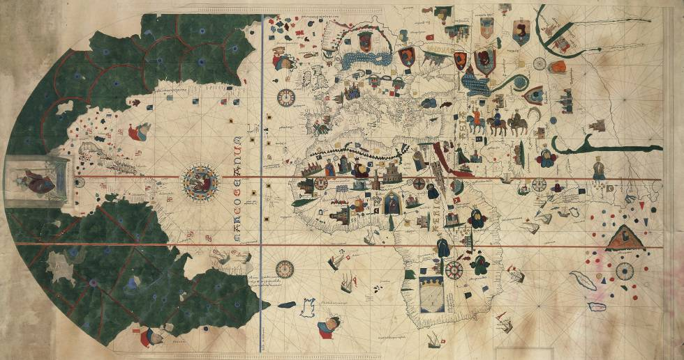 Oldest Known World Map.Visit The Oldest World Map That Includes The Americas The Wise