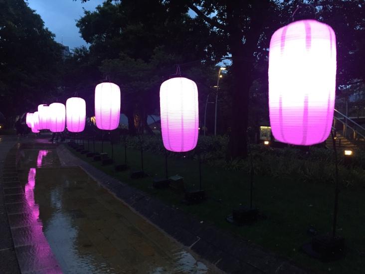 Lantern exhibit